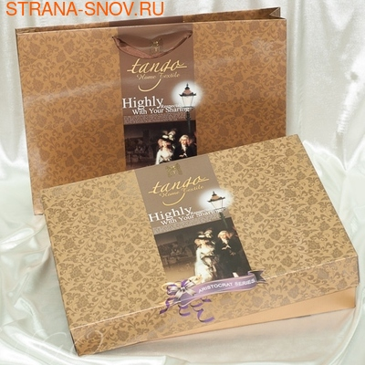 TJ350-05 Tango постельное белье сатин жаккард семейное (фото, вид 1)
