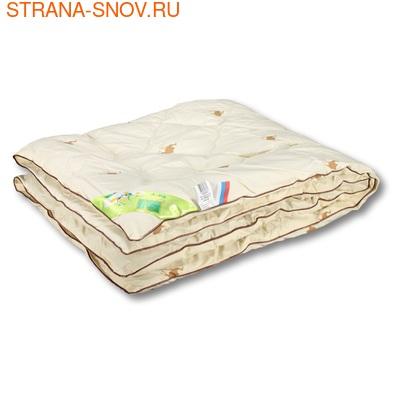 Одеяло детское верблюжья шерсть Верблюжонок 110х140 (фото, вид 1)