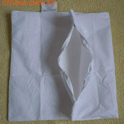 Наволочка махровая влагозащитная АКВАСТОП 70х70 (фото, вид 1)