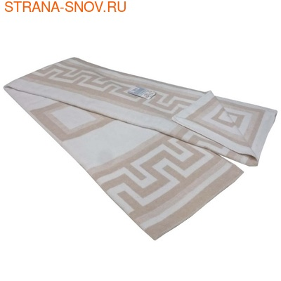 Одеяло байковое ГРЕЦИЯ 140х205 бежевое (фото, вид 1)