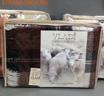 Эльф 04-01 плед новозеландская овечья шерсть 140х200 (фото, вид 1)