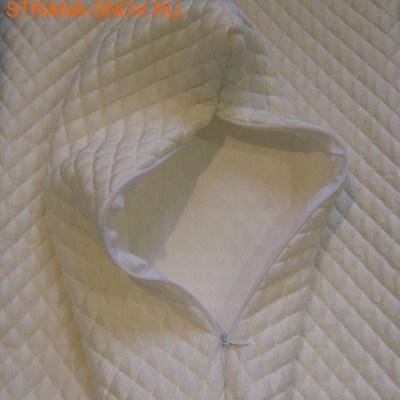 Охлаждающая наволочка ICE GLACIER NORMAL 40х60 односторонняя (фото, вид 1)