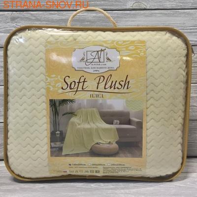 Carre-003 Soft Plush плед акриловая микрофибра 180х200 (фото, вид 2)