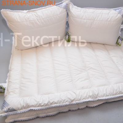 Одеяло козий пух кашемир Cashmere зимнее 200х220 (фото, вид 1)