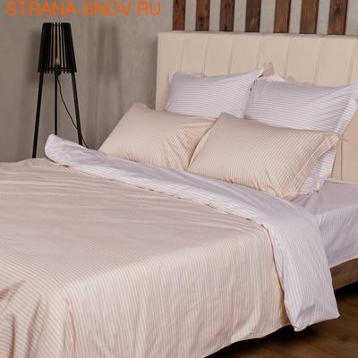 BL-01 SailiD постельное белье хлопок Сатин двухцветный евро (фото, вид 1)