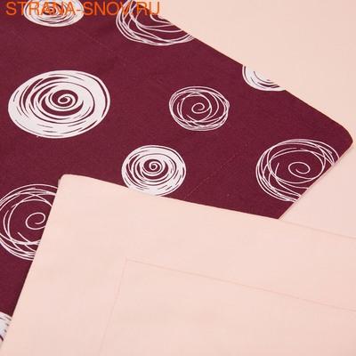 BL-15 SailiD постельное белье хлопок Сатин двухцветный евро (фото, вид 3)