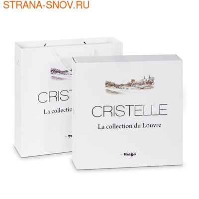 CJ03-45 Cristelle постельное белье жаккард La collection du Louvre евро (фото, вид 2)