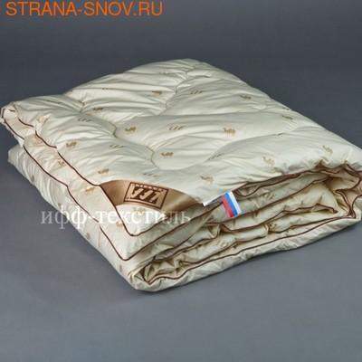 Одеяло верблюжья шерсть Сахара SN-Textile зимнее 140х205 (фото, вид 1)