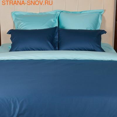BL-18 SailiD постельное белье Сатин биколор 2-спальное (фото, вид 1)