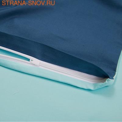 BL-18 SailiD постельное белье хлопок Сатин двухцветный 2сп (фото, вид 2)