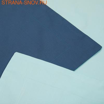 BL-18 SailiD постельное белье хлопок Сатин двухцветный 2сп (фото, вид 4)