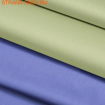 BL-45 SailiD постельное белье хлопок Сатин двухцветный евро (фото, вид 2)