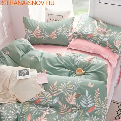 L-10 SailiD постельное белье Сатин Однотонный 1,5-спальное (фото)
