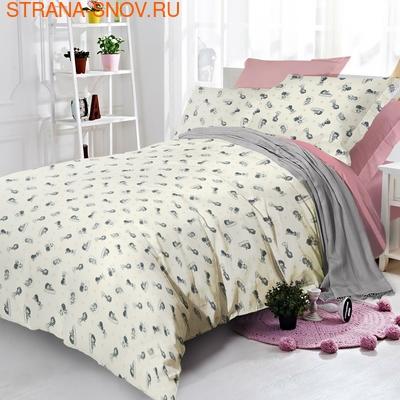 620 Экзотика постельное белье хлопок Поплин 1,5-спальное (фото)