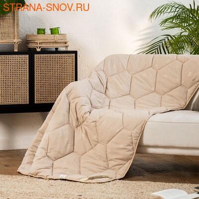 Одеяло верблюжья шерсть Сахара Микрофибра всесезонное 140х205