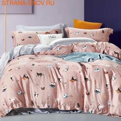B-053 SailiD постельное белье сатин 1,5-спальное (фото)