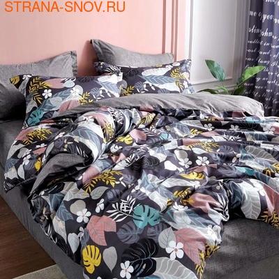 BL-23 SailiD постельное белье хлопок Сатин двухцветный семейное (фото)