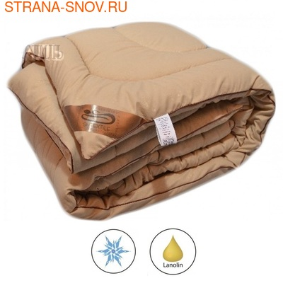 Одеяло овечья шерсть Модерато Alvitek микрофибра летнее 172х205