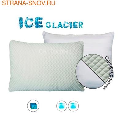 Охлаждающая наволочка ICE GLACIER NORMAL 40х60 односторонняя (фото)