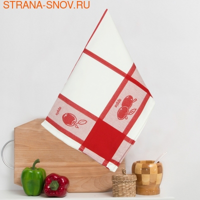 8202-01 Кухонное жаккардовое полотенце хлопок 50х50