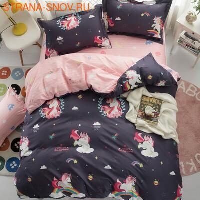 DF05-287-50 постельное белье микросатин Dream Fly семейное (фото)