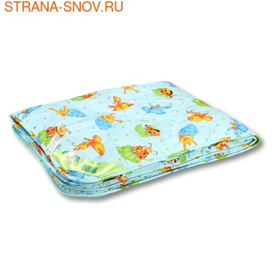 Одеяло детское холфит Светлячок 110х140 всесезонное
