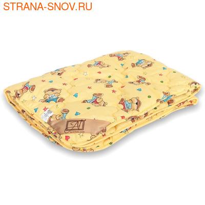 Одеяло детское овечья шерсть Стандарт 110х140 всесезонное
