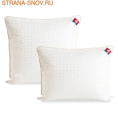 Одеяло байковое Сони 100х140 бело-розовое