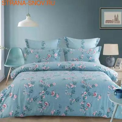 Покрывало хлопковое Коронатекс Шоколад 200х240 коричневое