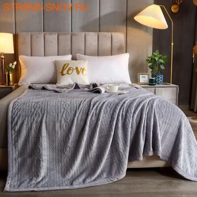 Полотенце махровое бамбуковое Fiesta 70х130 черничное