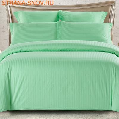 CST05-01 постельное белье страйп сатин однотонный Семейное (фото)