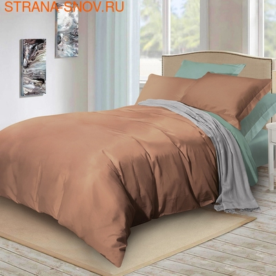 BL-44 SailiD постельное белье хлопок Сатин двухцветный евро (фото)