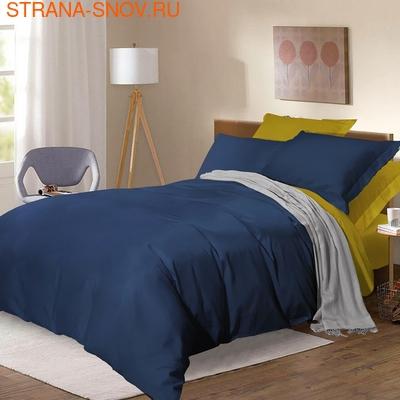 BL-49 SailiD постельное белье хлопок Сатин двухцветный евро (фото)