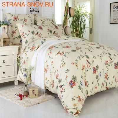 L-21 SailiD постельное белье Сатин Однотонный 1,5-спальное (фото)