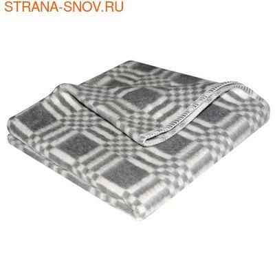 Одеяло детское байковое 100х140 серое