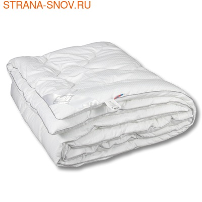 Одеяло Лебяжий пух сатин SN-Textile 172х205 зимнее