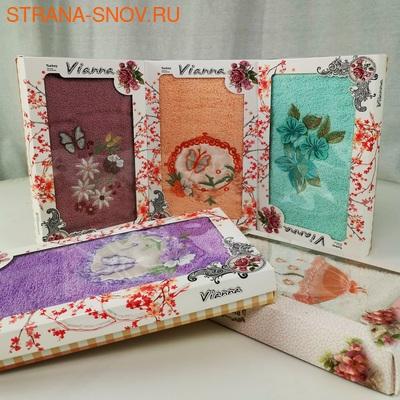 8436 Полотенце махровое хлопок Vianna 3D Cotton 50х90 (фото)