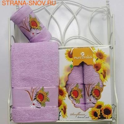 8006-03 Набор полотенец Merzuka Sunflower (50x80, 70x130)