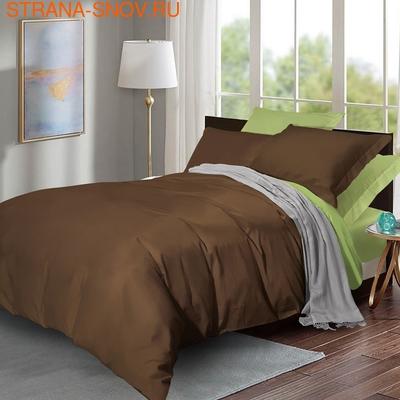 BL-46 SailiD постельное белье хлопок Сатин двухцветный 2сп (фото)