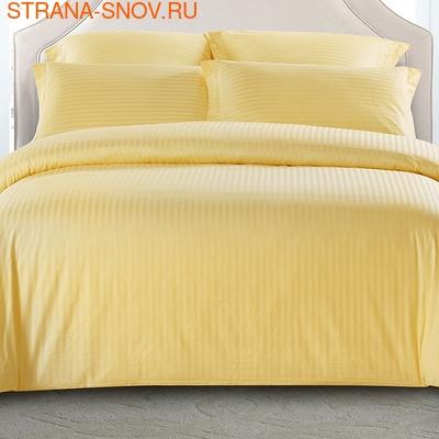 CST01-02 постельное белье страйп сатин однотонный 1,5-спальное (фото)