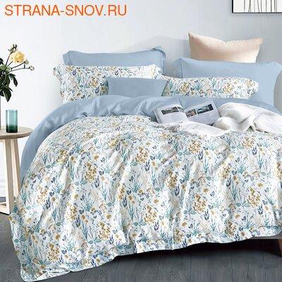 CST01-07 постельное белье страйп сатин однотонный 1,5-спальное (фото)