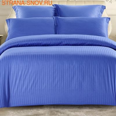 CST01-12 постельное белье страйп сатин однотонный 1,5-спальное (фото)