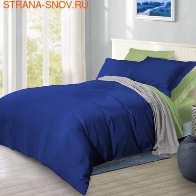 BL-52 SailiD постельное белье хлопок Сатин двухцветный семейное (фото)