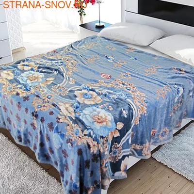 TJ06-34 Cristelle Blue marine постельное белье жаккард кружево евро (фото)