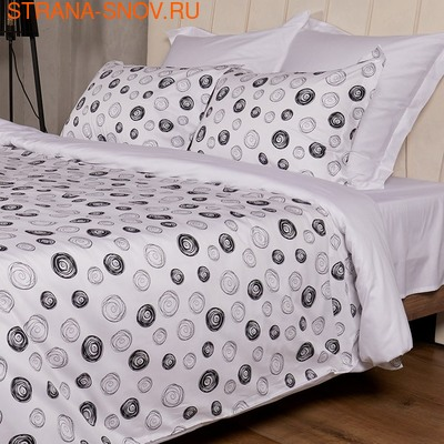 BL-16 SailiD постельное белье хлопок Сатин двухцветный семейное (фото)
