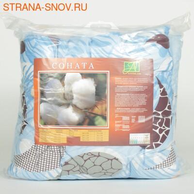 Одеяло волокно мирта Soleil du Lumiere всесезонное 172х205 (фото)