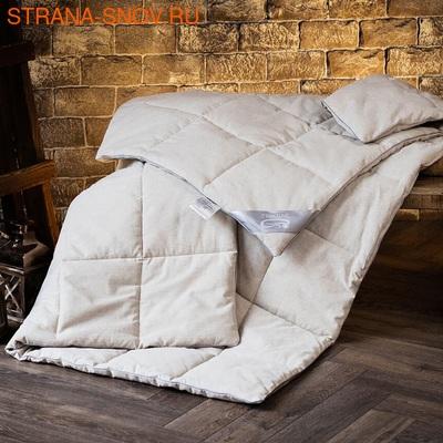 Одеяло стеганое Лён SN-Textile летнее 200х220 (фото)