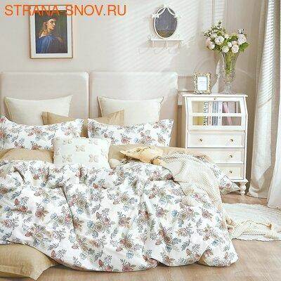 L-04 SailiD постельное белье Сатин Однотонный 1,5-спальное