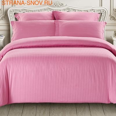 CST04-06 Tango постельное белье страйп сатин однотонный евро (фото)