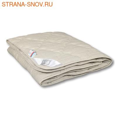 Одеяло стеганое Лён Alvitek легкое 140х205
